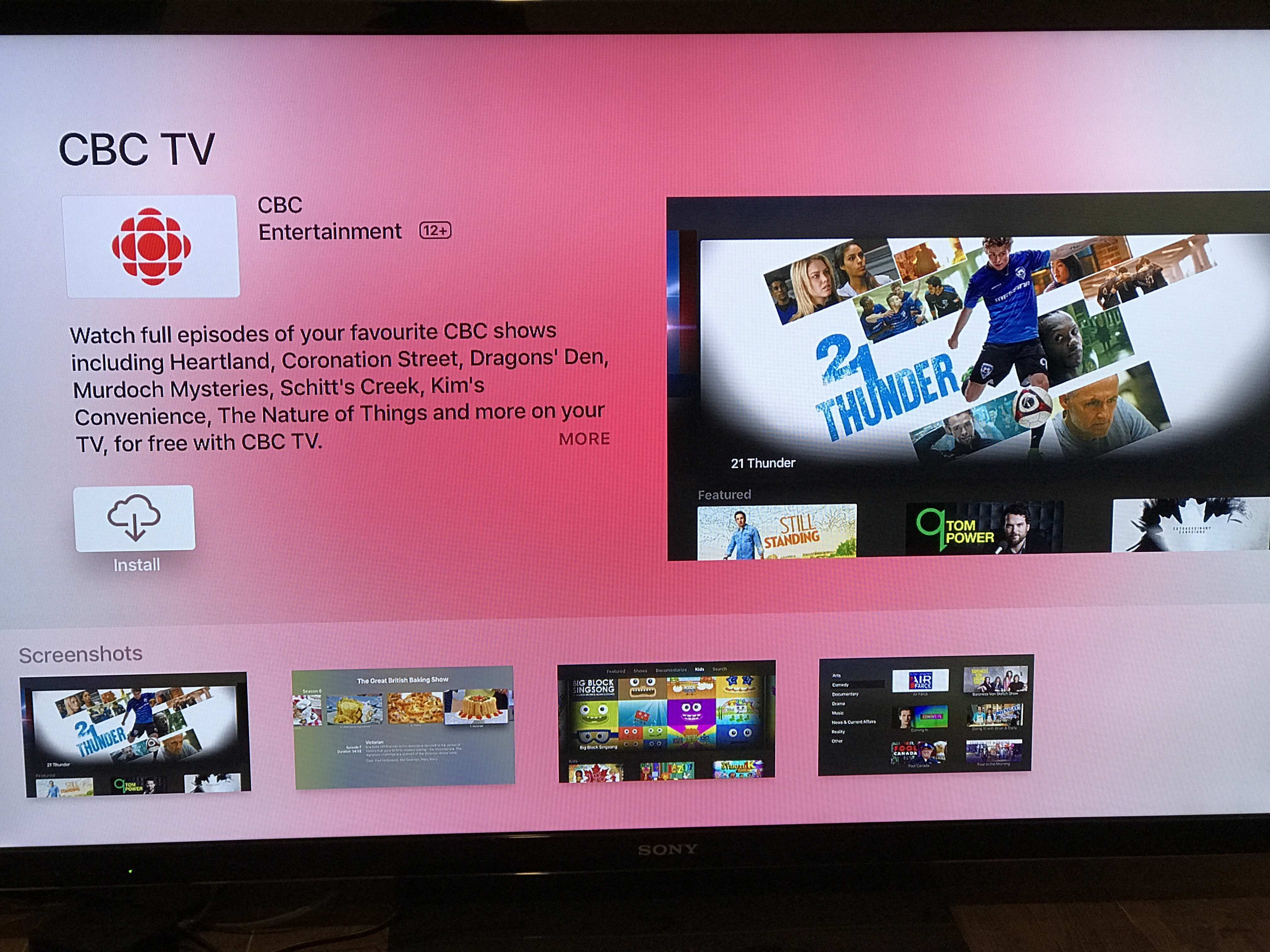 how to search for apps on apple tv
