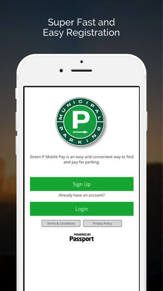 Green p parking toronto
