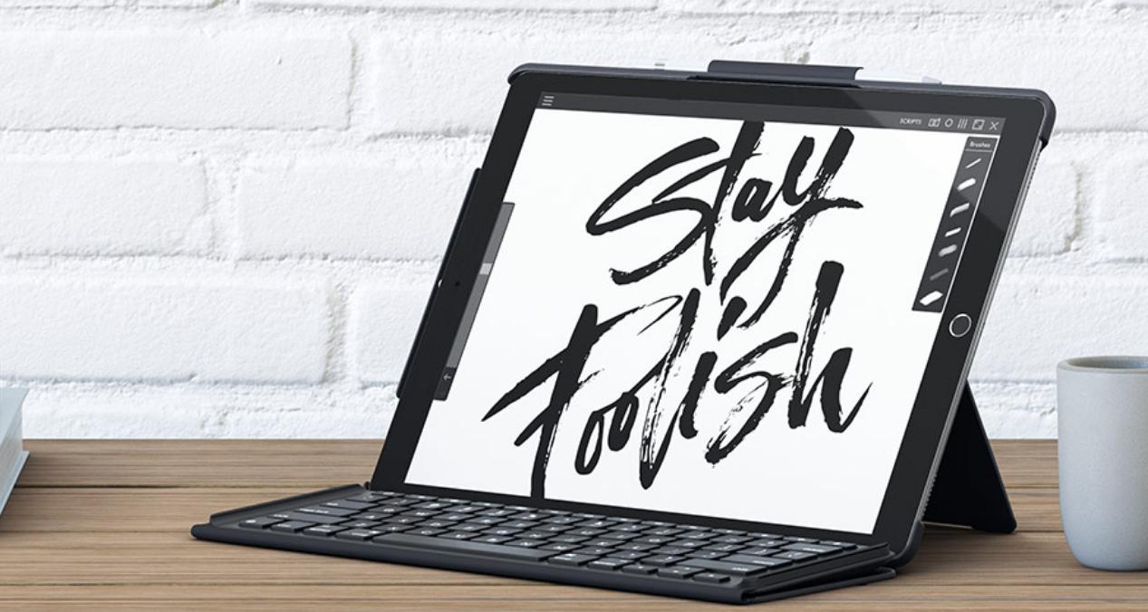 42b173c696b Review: Logitech Slim Combo Keyboard for Apple's 10.5″ iPad Pro ...