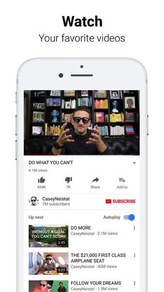 Youtube ios