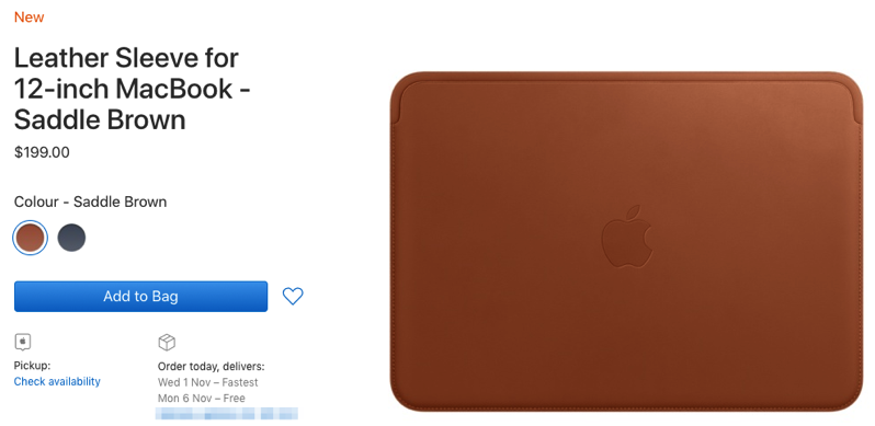 12 inch macbook leather sleeve