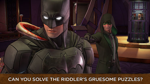 Batman ios the enemy within