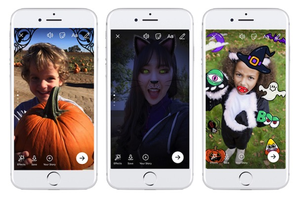 Facebook and Messenger Bring Spook-tacular New Features for