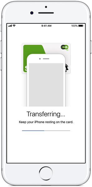 Iphone7 plus ios11 jp wallet adding suica