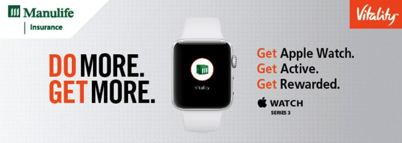 Manulife apple watch