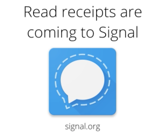Signal chat features