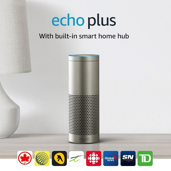 Amazon echo plus canada