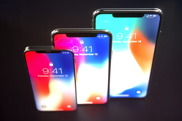 apple to release three new iphones in 2018 with face id. Black Bedroom Furniture Sets. Home Design Ideas