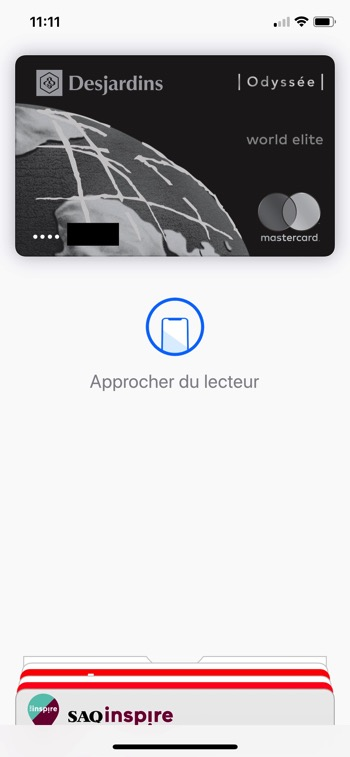 Desjardins apple pay