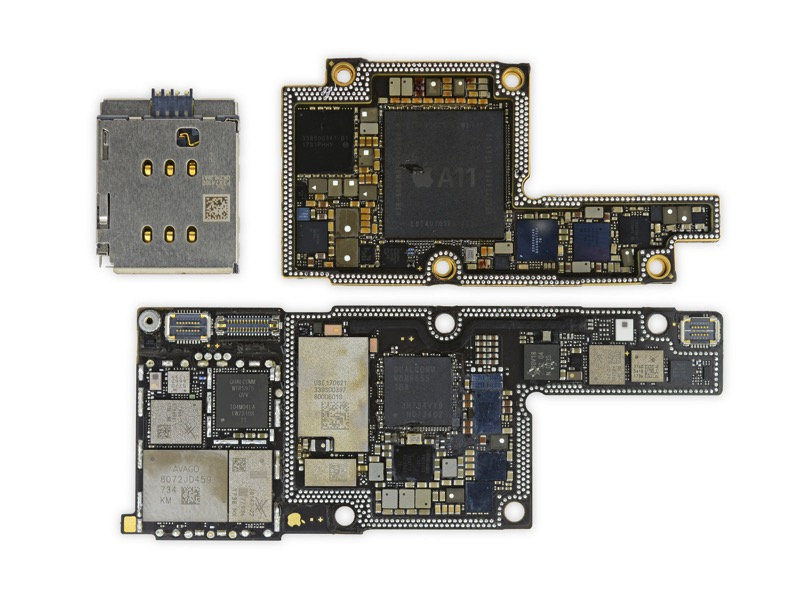 Iphone x logic board solo