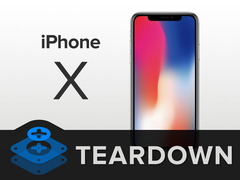Iphone x teardown ifixit
