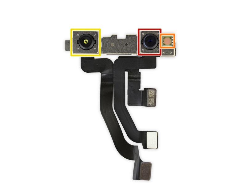 True depth camera iphone x