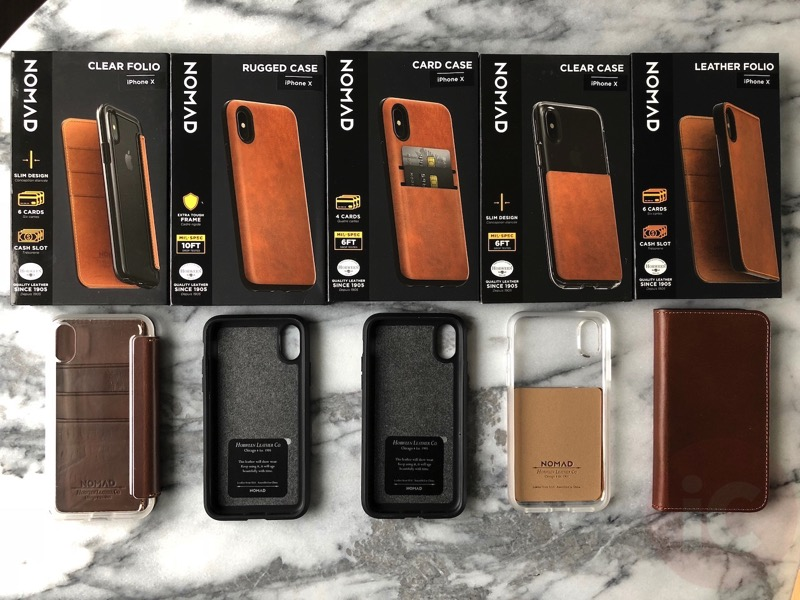 the best attitude cca39 d0bca Nomad iPhone X Leather Cases Roundup: Save 15% Off Now with This ...