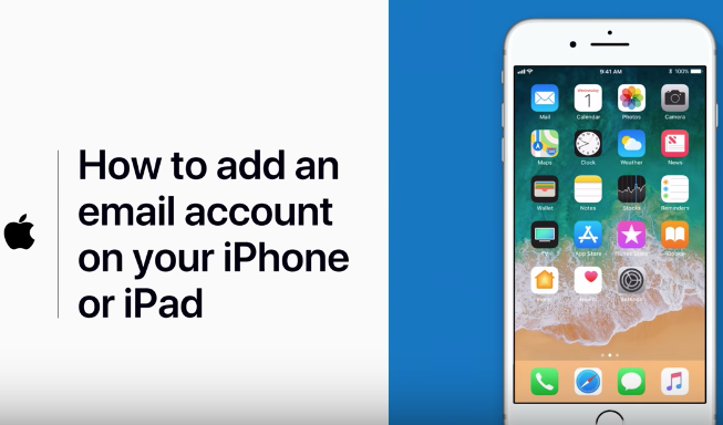 How to add email iphone ipad