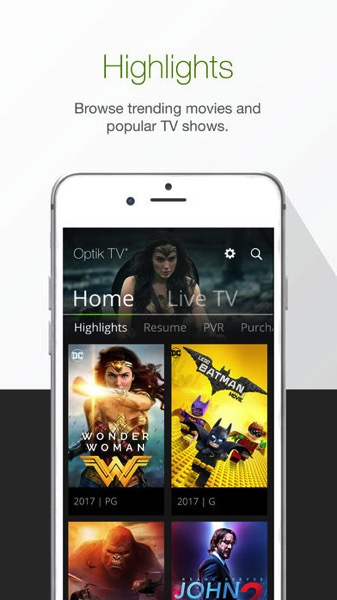 Telus optik tv ios