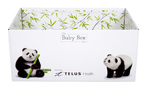 Telus Launches Baby Health App Offers Free Baby Boxes To New Parents Iphone In Canada Blog