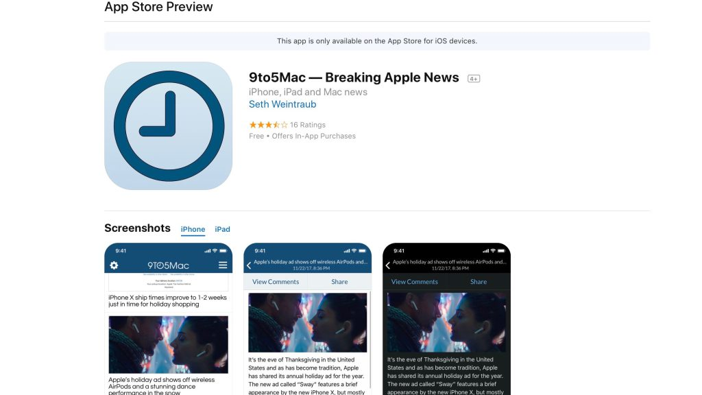 Apple Redesigns App Store Web Interface with New Design