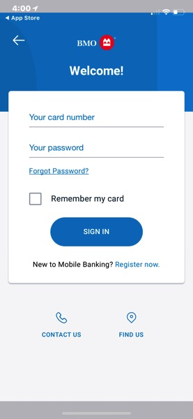 Bmo mobile banking iphone x