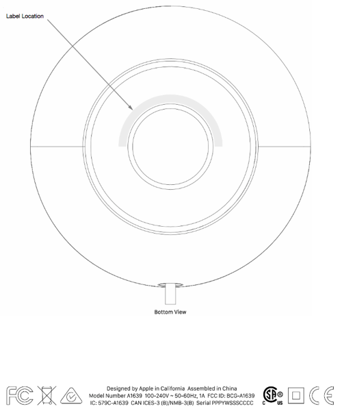 Homepod FCC approval