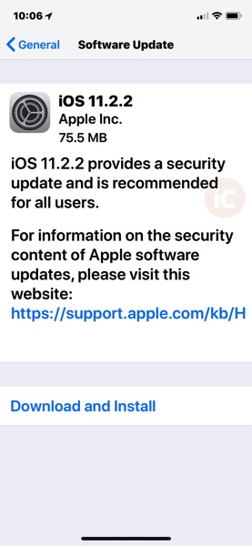 Ios 11 2 2 download