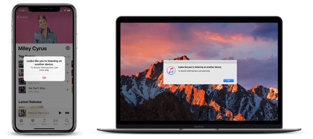 Apple music streaming error