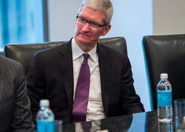 Apple CEO Tim Cook dodges question about dividend increase