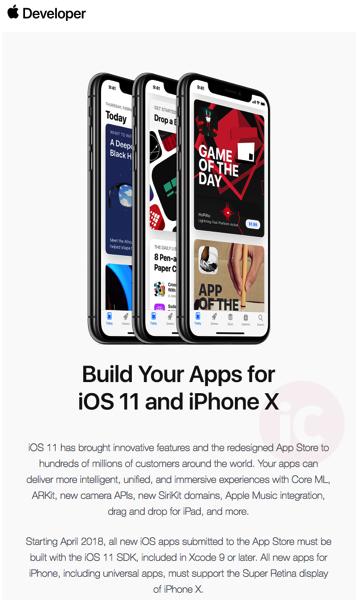 Ios 11 apps iphone x