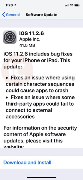 Ios 11 2 6 download