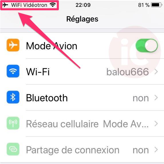 Videotron wifi calling 3
