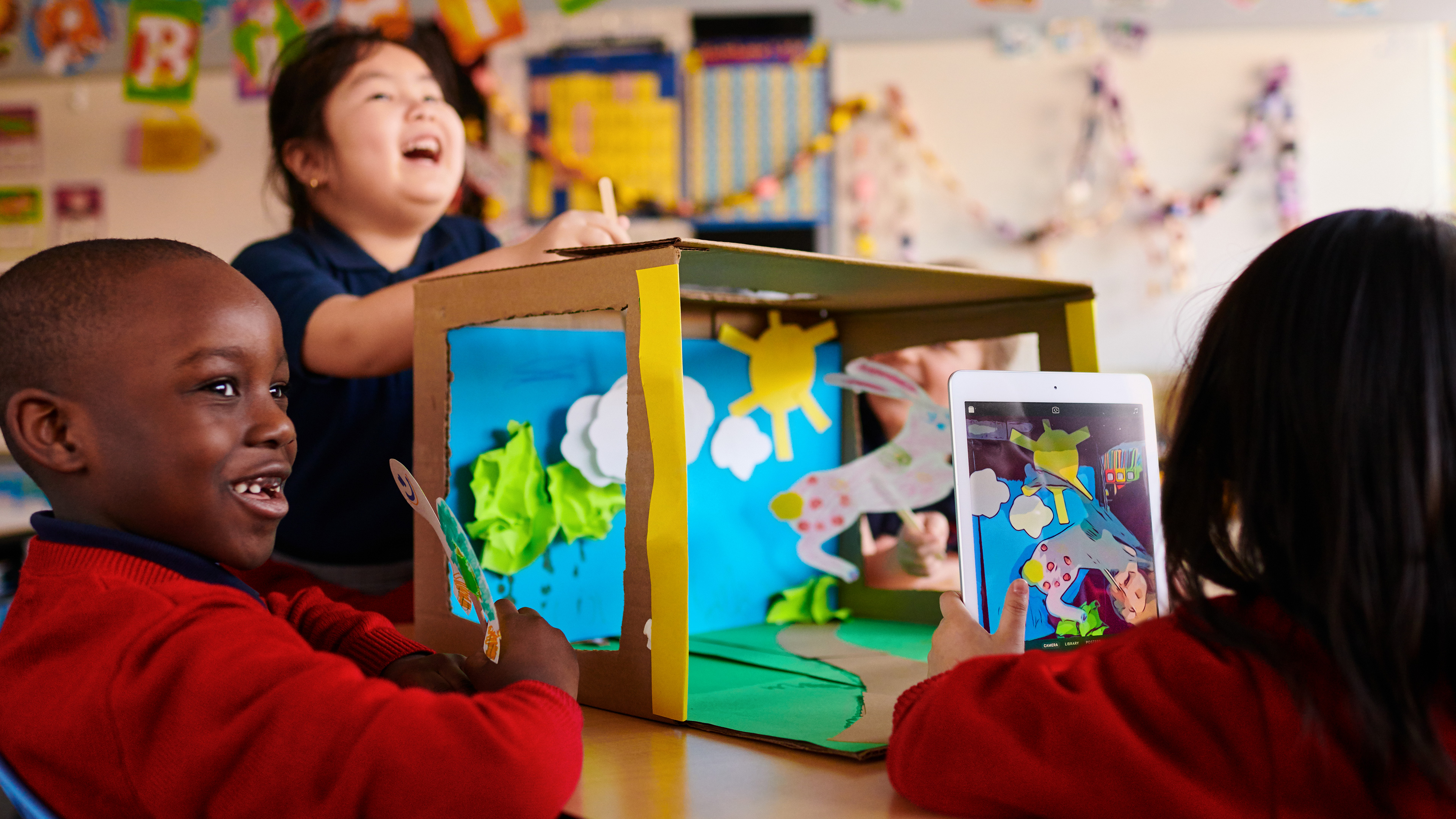 Game programs for children are aimed at revealing creativity