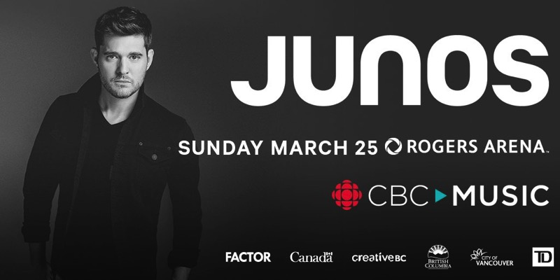 JUNO Awards Rogers Radio Homepage spotlight 1024x512