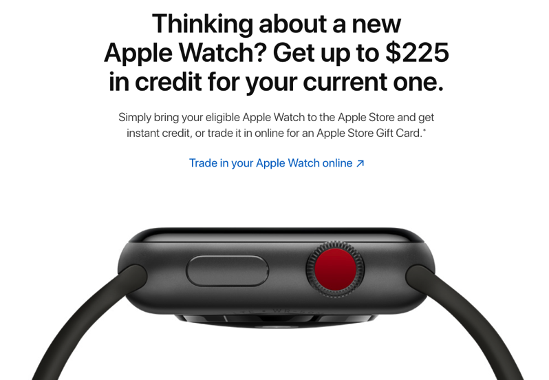 Apple watch trade in program canada