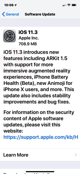 Ios 11 3 download iphone