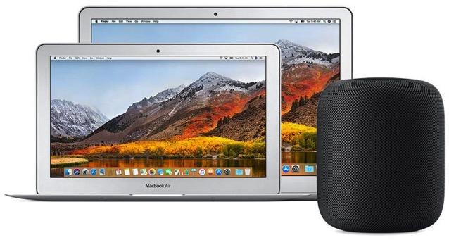 Macbook air homepod 800x427