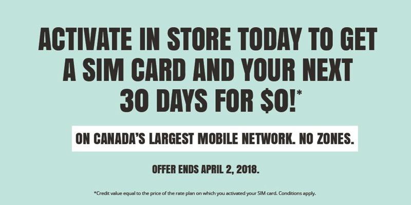 Public mobile promo 30 days