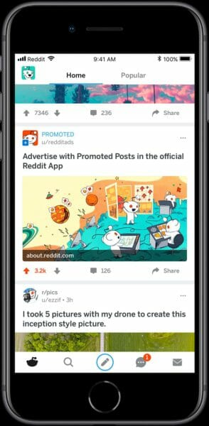 Reddit promoted posts iphone 294x600