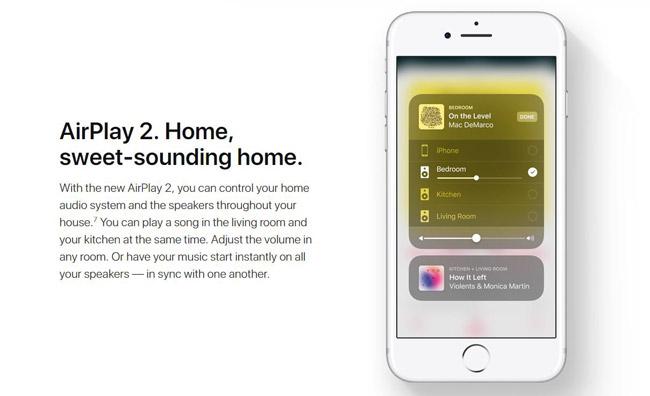 Apple Airplay2 website