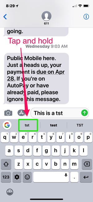 Gboard for iOS Now Lets You Remove Misspelled Suggestions