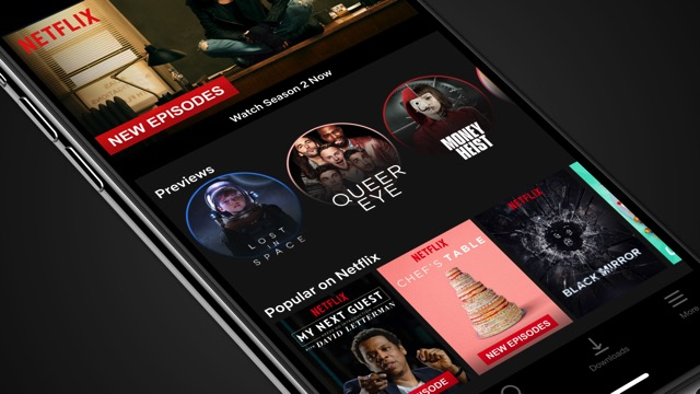 Netflix Launches Preview Videos On Mobile