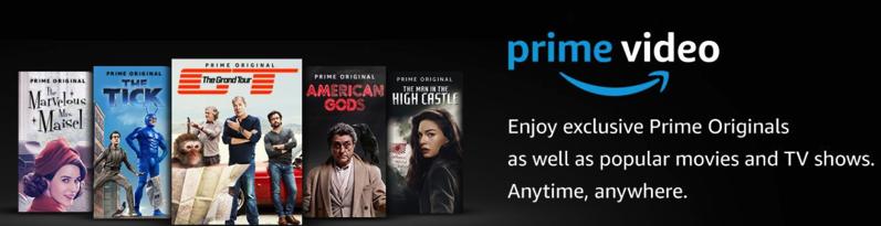 amazon prime video trial canada