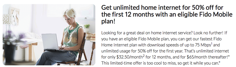 Fido home internet promo
