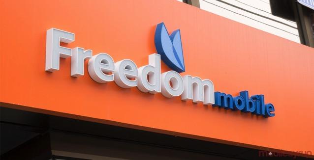 Freedom mobile header