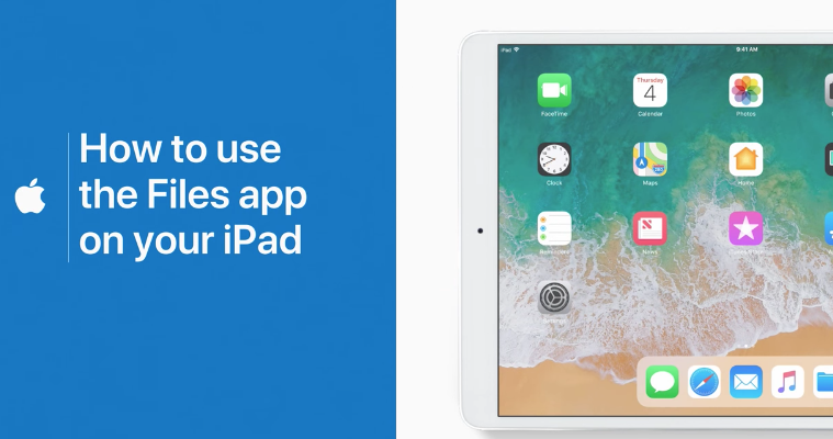 How to use files app ipad