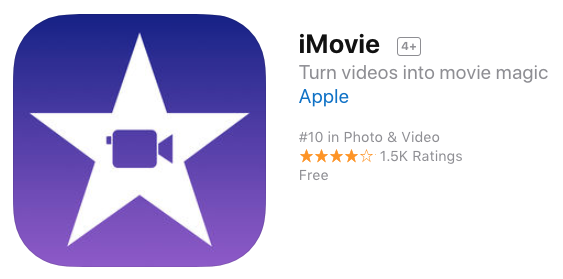 Imovie iphone x