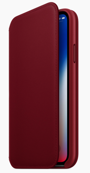 Product red folio iphone x