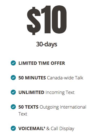 Public mobile $10 30 days