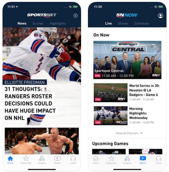 Sportsnet ios