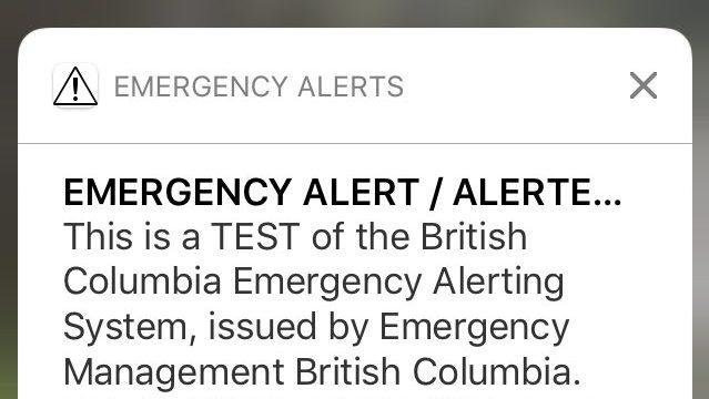 Emergency Alert Test Notification Did Not Reach Everyone