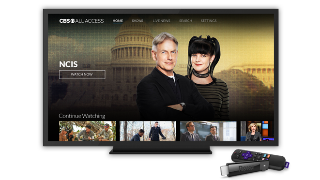 Cbs all access roku