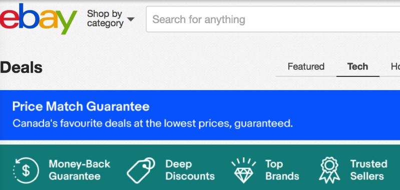 Ebay deals canada